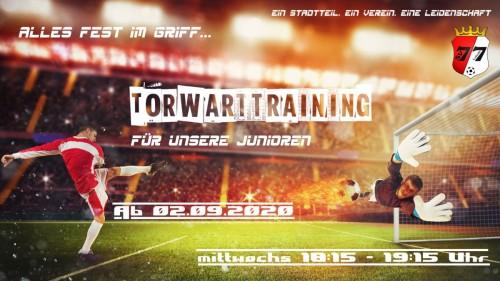 Torwarttraining für SVL-Junioren